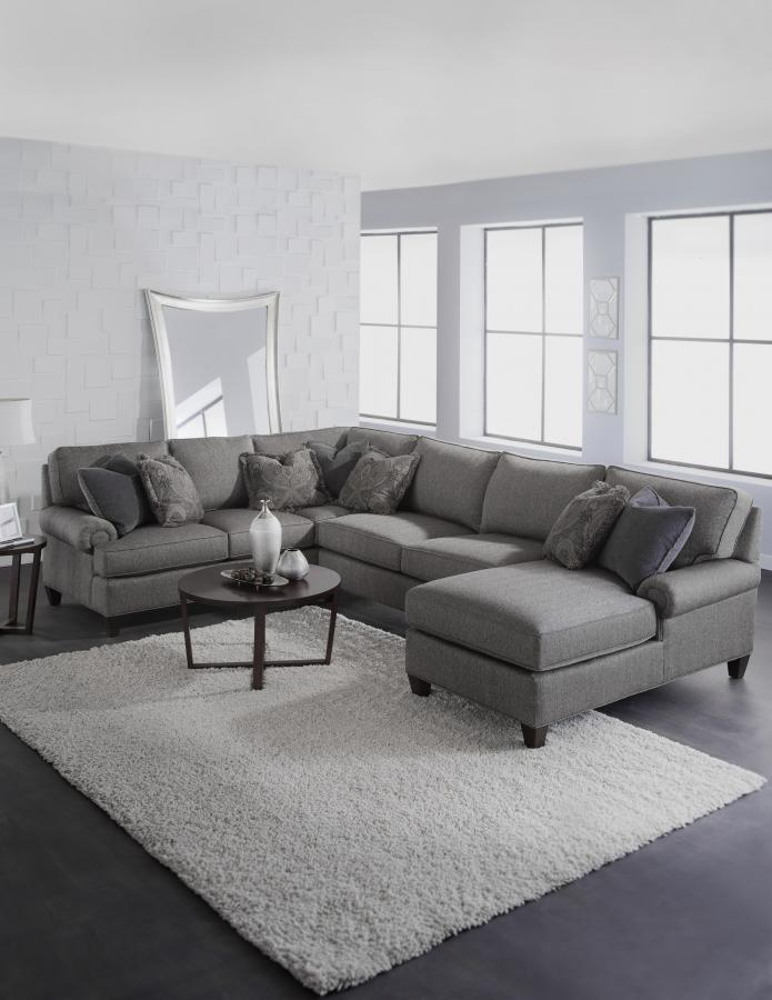 Chatham 5983-PAM-F : king hickory sectional - Sectionals, Sofas & Couches