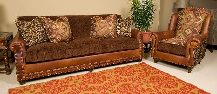 6500 Lf Red Rock Sofa
