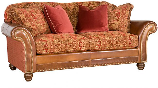 Leather fabric combo sofa 17 best images about leather for Leather sofa and loveseat combo