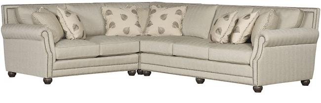 Julianna Sectional  sc 1 st  King Hickory : king hickory sectionals - Sectionals, Sofas & Couches