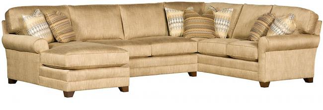 Winston Sectional  sc 1 st  King Hickory : king hickory sectional - Sectionals, Sofas & Couches